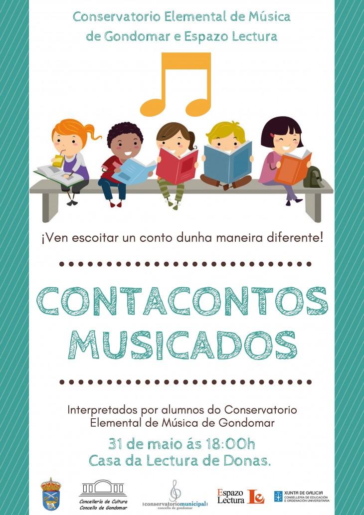 Contos musicados a cargo de profesorado e alumnado do Conservatorio de Música de Gondomar, na Casa da Lectura