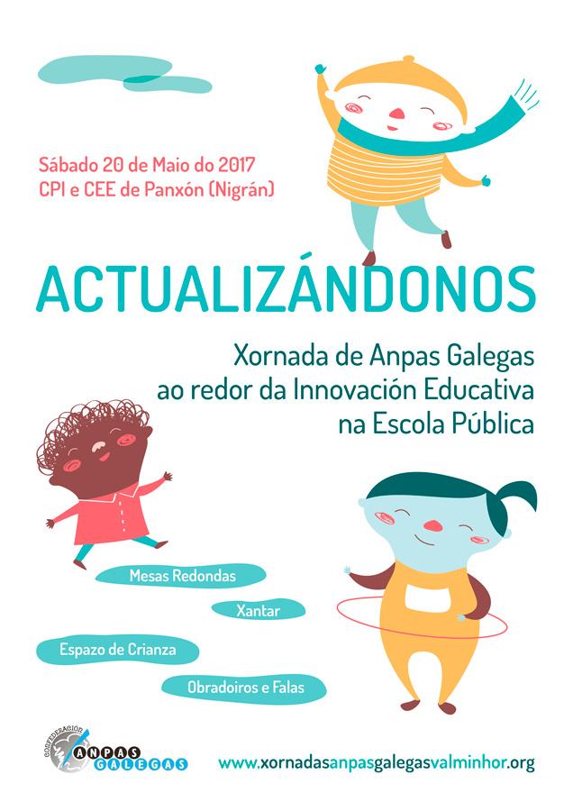 Xornadas de Anpas Galegas ao redor da Innovación Educativa na Escola Pública
