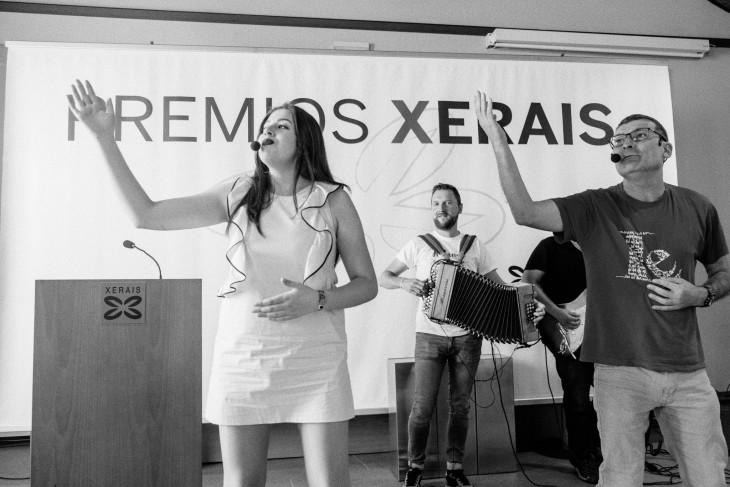 A Banda dos Cueiros, grupo convidado na gala dos Premios Xerais 2017
