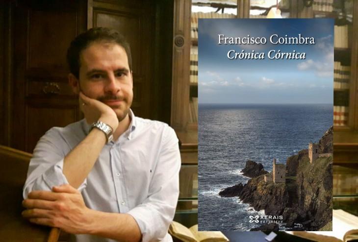 A novela «Crónica Córnica», última proposta da tempada no Sete Vidas que contará coa visita do autor