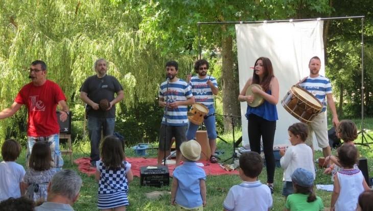 Concerto de presentación do disco de A Banda dos Cueiros