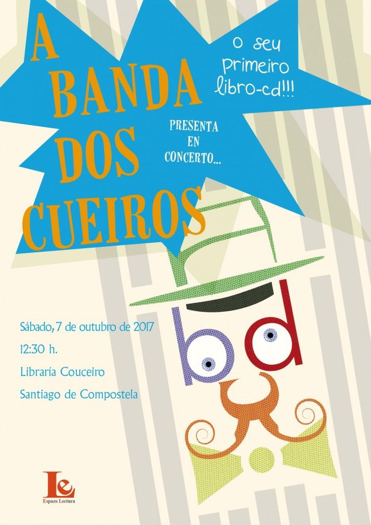 A Banda dos Cueiros presenta en concerto o seu libro-disco en Santiago de Compostela