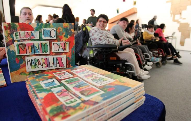 Celebramos o Día das Persoas con Discapacidade, na Casa da Lectura