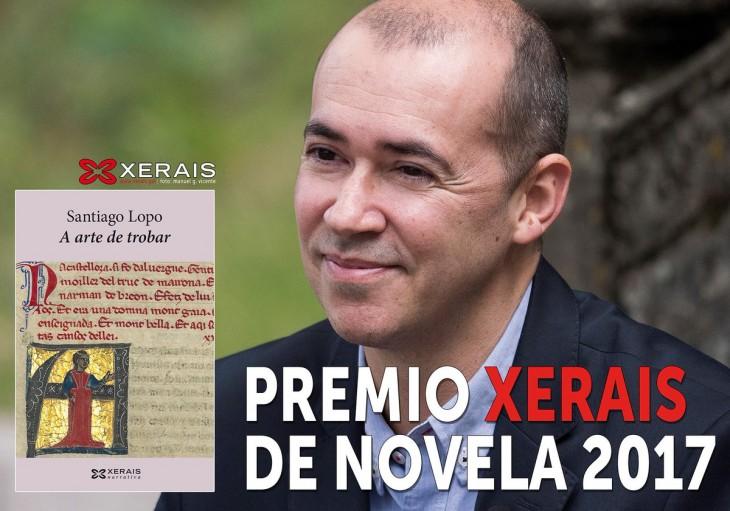 O Premio Xerais de Novela, Santiago Lopo, inaugura o novo ano do club Sete Vidas