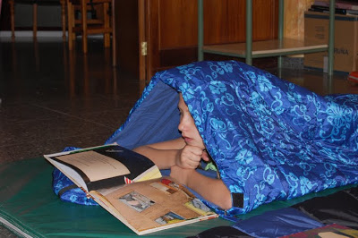 Esta fin de semana celébrase a Primeira Acampada Lectora
