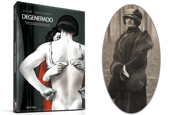 «Degenerado», de Chloé Cruchaudet, no Lecturas Debuxadas de maio
