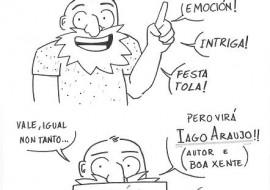 O cómic «Que é o comercio xusto?», de Iago Araújo, pecha a tempada do Lectura Debuxadas