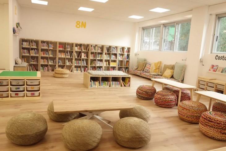 Parabéns ao CEIP As Covas-Meaño pola nova biblioteca que acaba de inaugurar