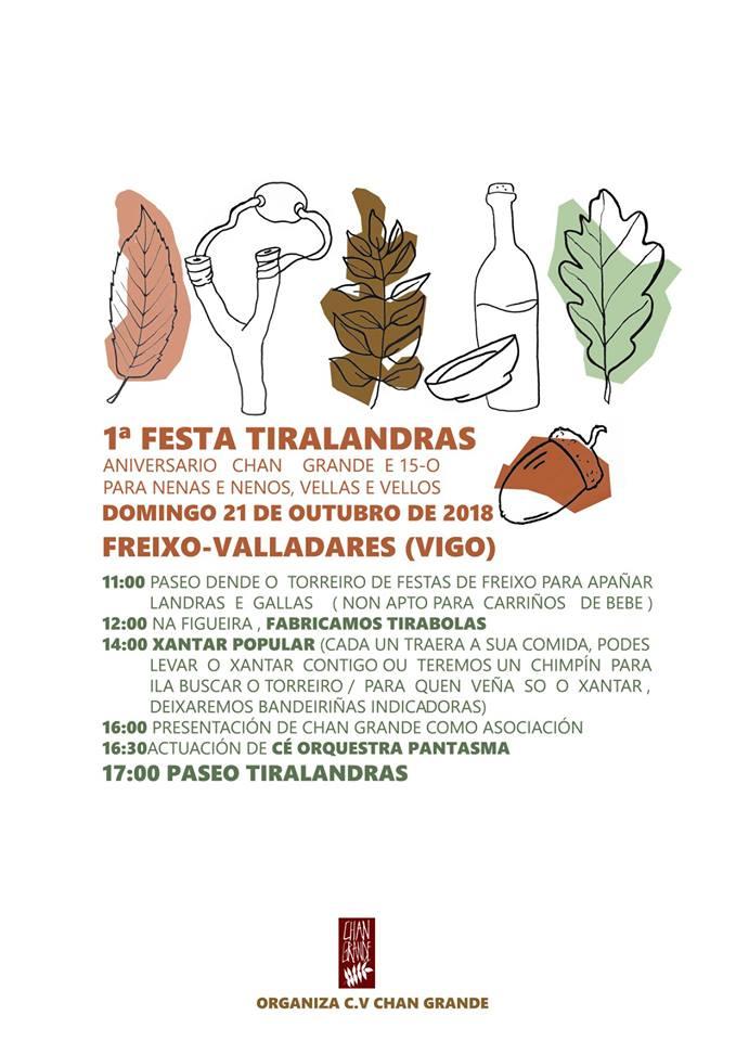 1ª Festa Tiralandras