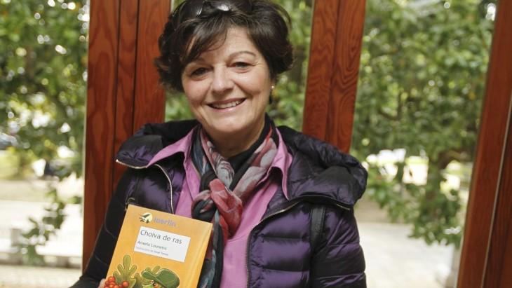 A escritora Ánxela Loureiro participa no primeiro Lendo Contigo da tempada