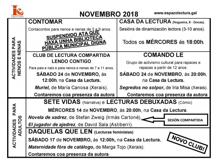 Actividades novembro 2018