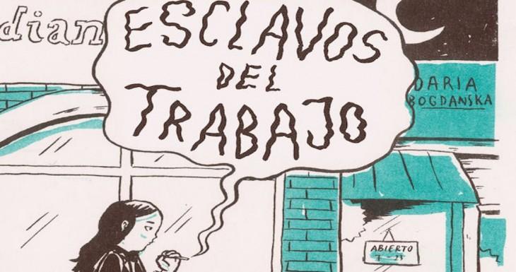 «Esclavos del trabajo», de Daria Bogdanska, no Lecturas Debuxadas de xaneiro