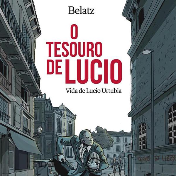 «O tesouro de Lucio», no Lecturas Debuxadas de febreiro