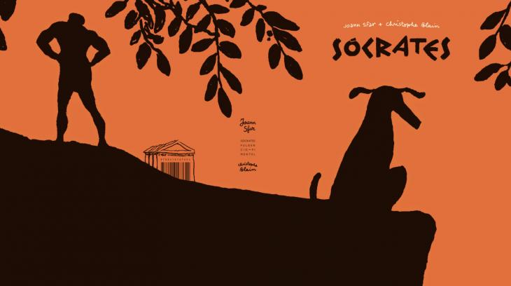 «Sócrates», no Lecturas Debuxadas de marzo