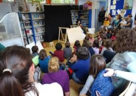 Diversas actividades para diferentes idades pechan a tempada de Espazo Lectura