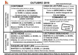 Actividades outubro 2019