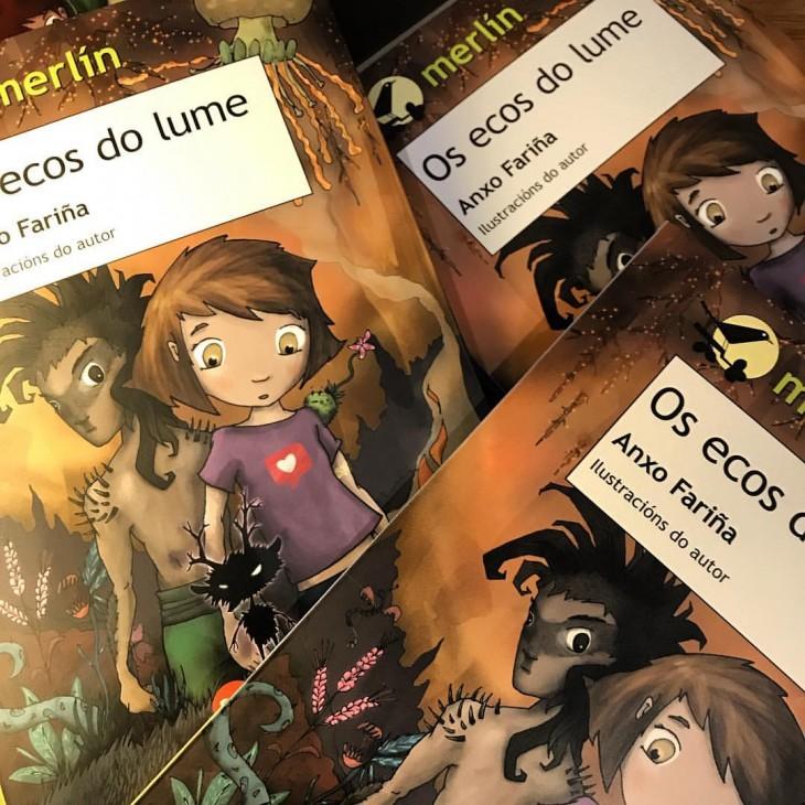 Anxo Fariña visita o Lendo Contigo para falarnos de «Os ecos do lume»