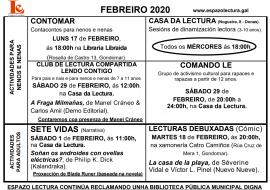 Actividades febreiro 2020