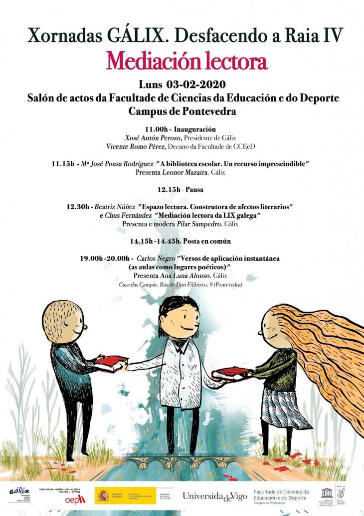 Espazo Lectura participa na IV Xornada GÁLIX de Mediación lectora.