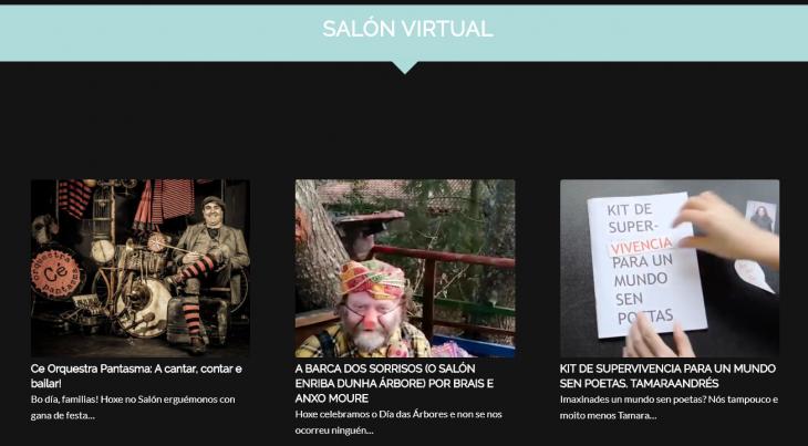 #euquedonacasa co… Salón do Libro Virtual