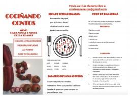 #euquedonacasa… Cociñando contos