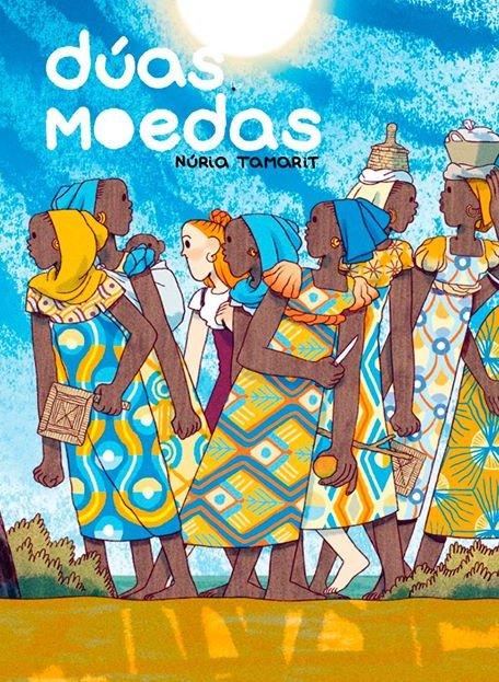 No Club Lecturas Debuxadas de maio imos a Senegal da man de Dúas moedas